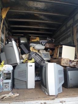 Coleta de lixo eletrônico foi um sucesso