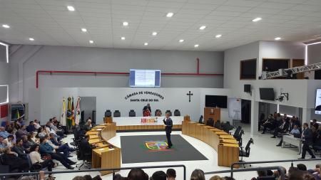Equipe municipal participa de encontro com TCE/RS
