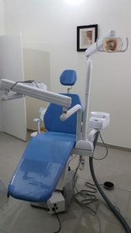 Saúde recebe nova cadeira odontológica