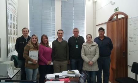 Equipe municipal visita Venâncio Aires