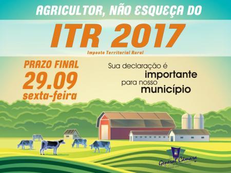 ITR vence na próxima sexta-feira (29)