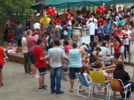 Festa de Natal na cidade teve grande público
