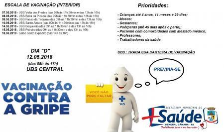 CAMPANHA DE VACINAÇÃO H1N1