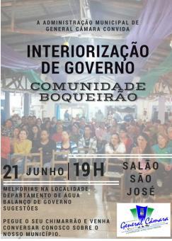 Interiorização de Governo
