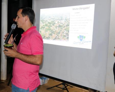 Comunidade do Passo da Taquara recebe interiorização