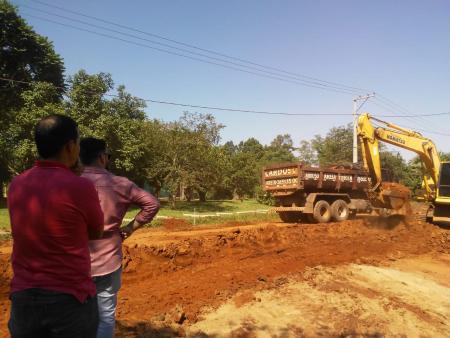 Obras de pavimentação são realizadas em General Câmara