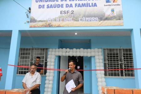 Prefeitura de General Câmara inaugura ESF2
