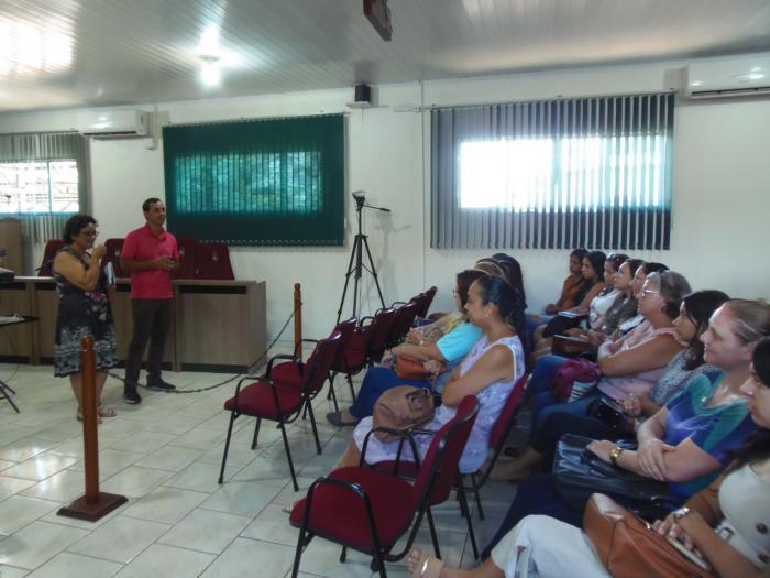 Encontro com servidores da EMEI Norberto Fagundes marca o início do ano letivo da escola