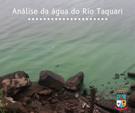 Análise da água do Rio Taquari