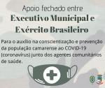 Apoio entre Executivo Municipal e Exército Brasileiro
