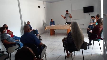 Reunião sobre primeira entrega do PAA