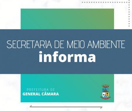 Secretaria de Meio Ambiente informa